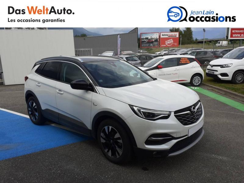 Opel Grandland X Grandland X 2.0 CDTI 177 ch BVA8 Ultimate 5p Blanc occasion à Tournon - photo n°3