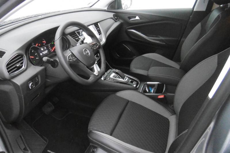 Opel Grandland X Grandland X Hybrid 225 ch BVA8 Elite 5p Gris occasion à Brive-la-Gaillarde - photo n°10