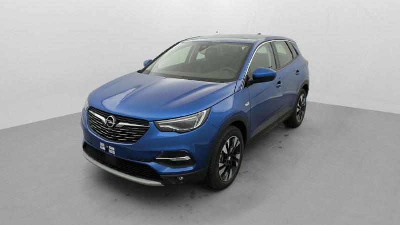 Opel Grandland X HYBRID 225 CH BVA8 ELEGANCE BUSINESS Bleu occasion à SAINT-GREGOIRE - photo n°3