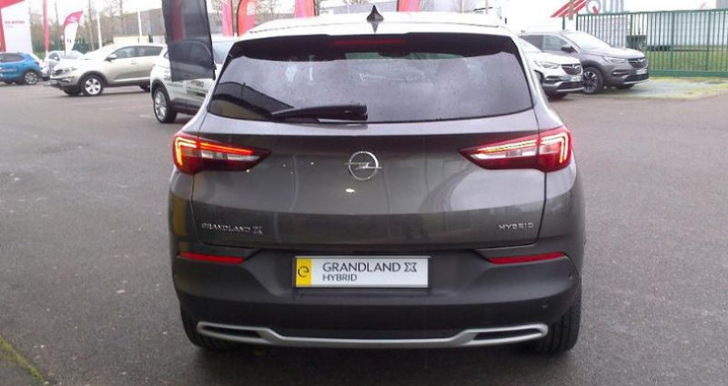 Opel Grandland X Hybrid 225ch Elite 10cv Gris occasion à vert-saint-denis - photo n°6