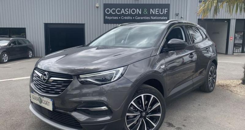 Opel Grandland X HYBRID 225CH ELITE 10CV Gris occasion à GUER