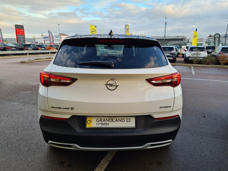 Opel Grandland X Hybrid 225ch Elite 10cv Blanc occasion à Barberey-Saint-Sulpice - photo n°7