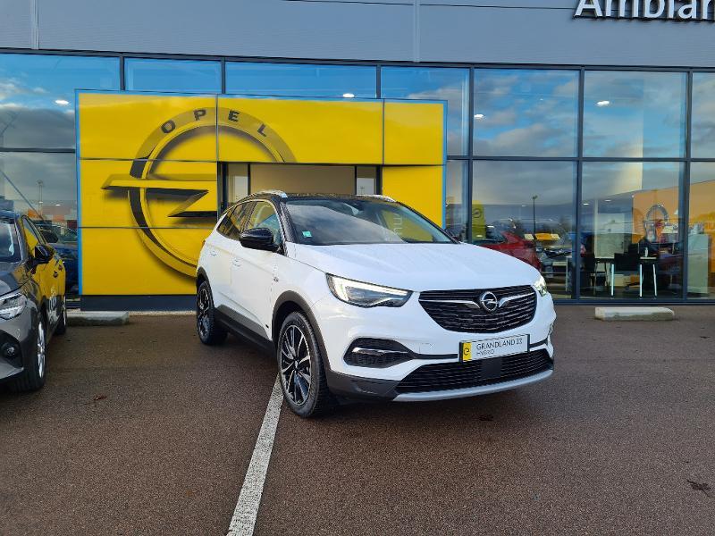 Opel Grandland X Hybrid 225ch Elite 10cv Blanc occasion à Barberey-Saint-Sulpice