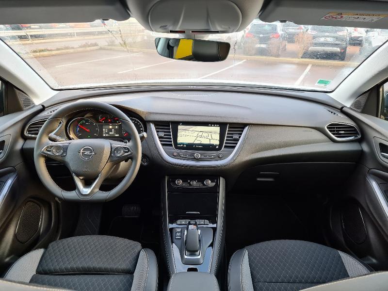 Opel Grandland X Hybrid 225ch Elite 10cv Blanc occasion à Barberey-Saint-Sulpice - photo n°3