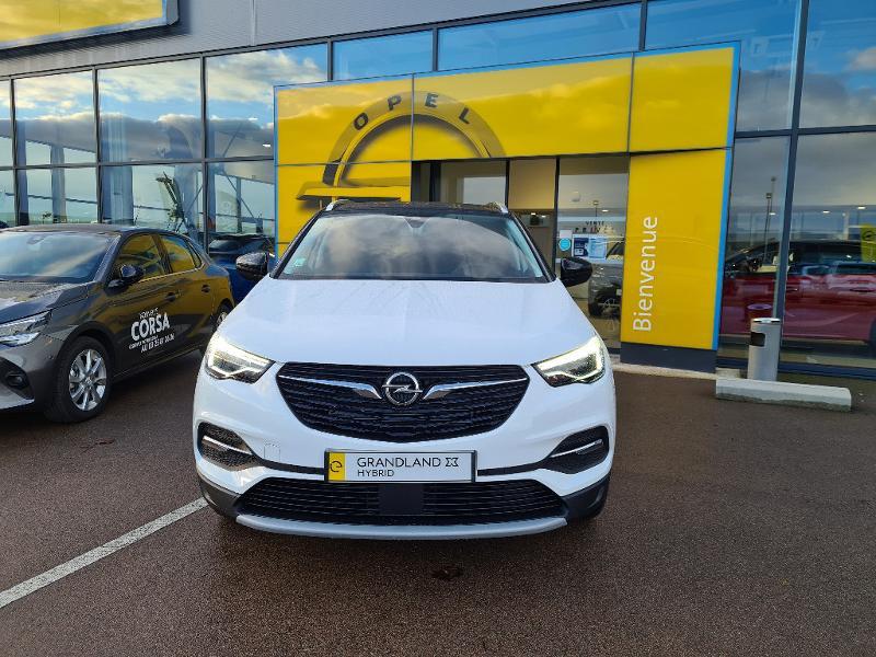 Opel Grandland X Hybrid 225ch Elite 10cv Blanc occasion à Barberey-Saint-Sulpice - photo n°4