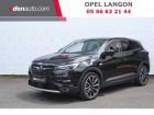Opel Grandland X Hybrid4 300 ch AWD BVA8 Elite Noir à Toulenne 33