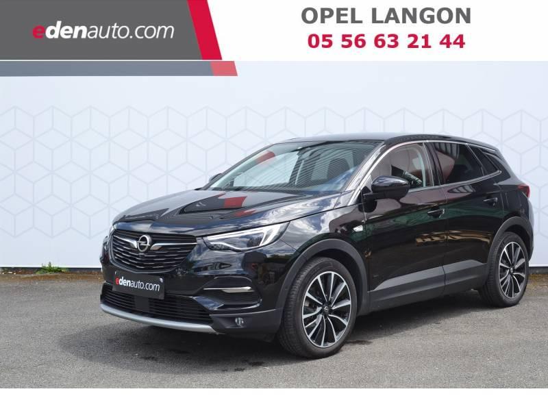 Opel Grandland X Hybrid4 300 ch AWD BVA8 Elite Noir occasion à Toulenne
