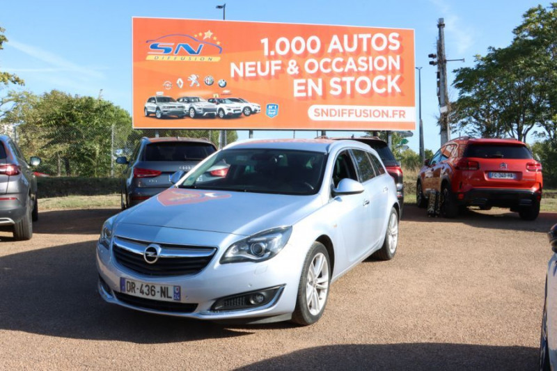 Opel Insignia Sports Tourer 2.0 CDTI 163 BVA COSMO PACK AUTO Gris occasion à Lescure-d'Albigeois