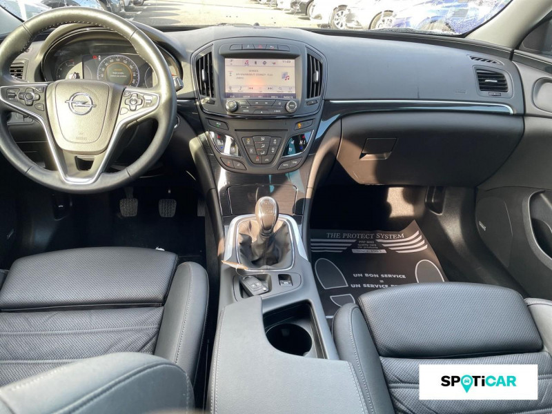Opel Insignia 2.0 CDTI 170 ch BlueInjection ecoFlex Elite Noir occasion à ONET LE CHATEAU - photo n°8