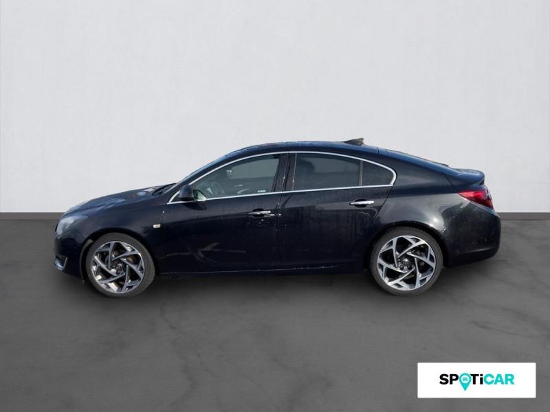 Opel Insignia 2.0 CDTI 170 ch BlueInjection ecoFlex Elite Noir occasion à ONET LE CHATEAU - photo n°4