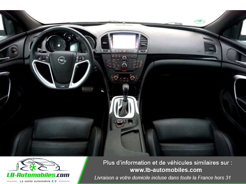 Opel Insignia 2.8 V6 Turbo 325 AWD OPC A Blanc occasion à Beaupuy - photo n°2