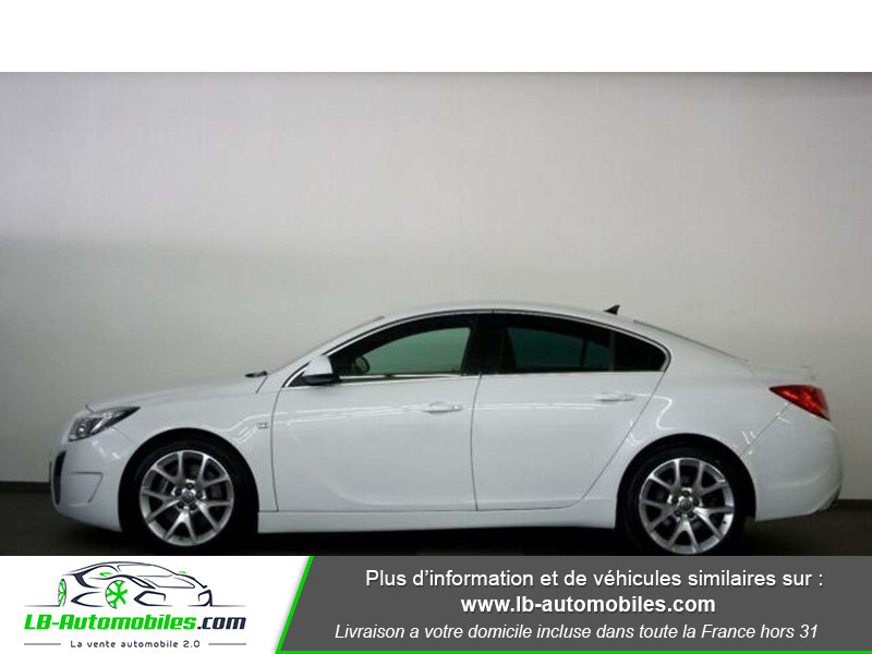 Opel Insignia 2.8 V6 Turbo 325 AWD OPC A Blanc occasion à Beaupuy - photo n°10
