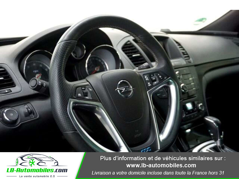 Opel Insignia 2.8 V6 Turbo 325 AWD OPC A Blanc occasion à Beaupuy - photo n°6