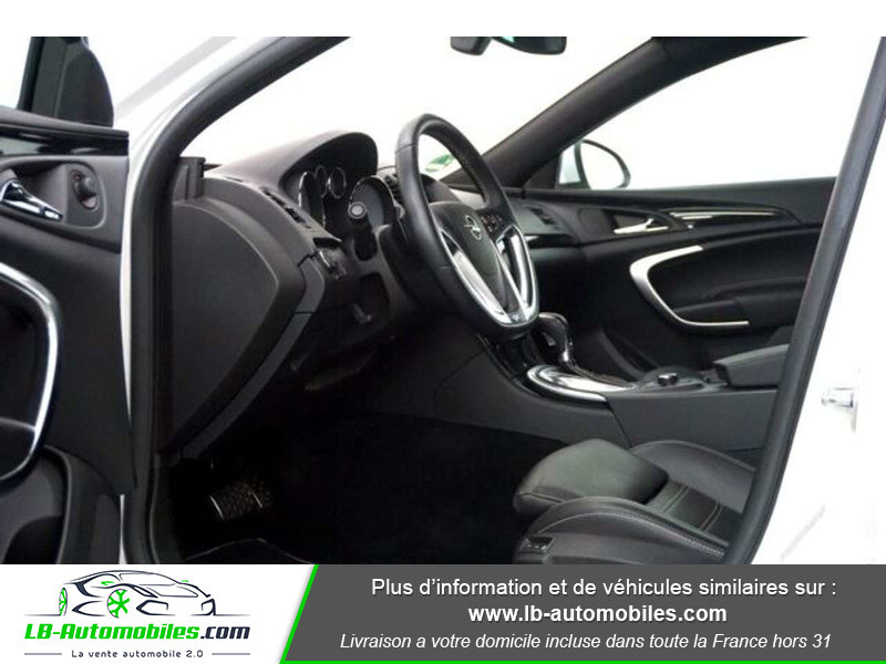 Opel Insignia 2.8 V6 Turbo 325 AWD OPC A Blanc occasion à Beaupuy - photo n°4