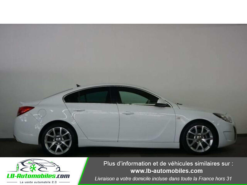 Opel Insignia 2.8 V6 Turbo 325 AWD OPC A Blanc occasion à Beaupuy - photo n°11