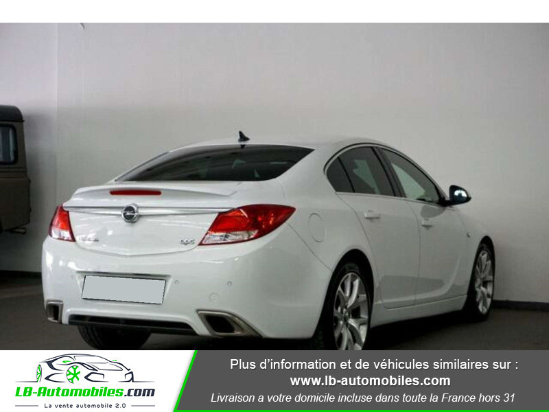 Opel Insignia 2.8 V6 Turbo 325 AWD OPC A Blanc occasion à Beaupuy - photo n°3