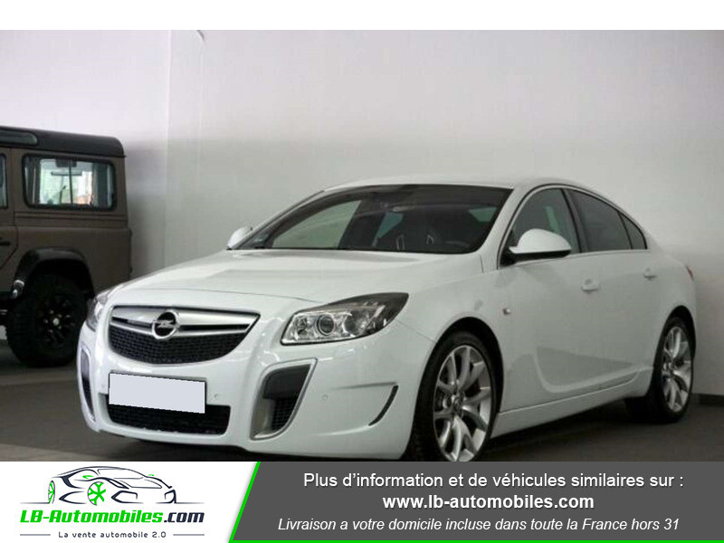 Opel Insignia 2.8 V6 Turbo 325 AWD OPC A Blanc occasion à Beaupuy