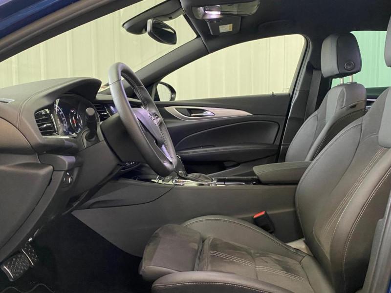 Opel Insignia GRAND SPORT 1.5 Diesel 122 ch BVA8 Bleu occasion à CONCARNEAU - photo n°5