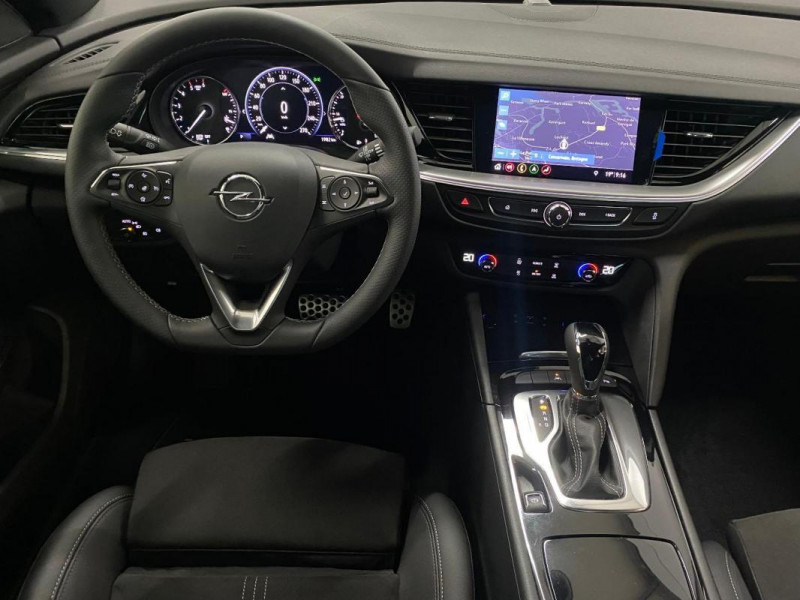 Opel Insignia GRAND SPORT 1.5 Diesel 122 ch BVA8 Bleu occasion à CONCARNEAU - photo n°4