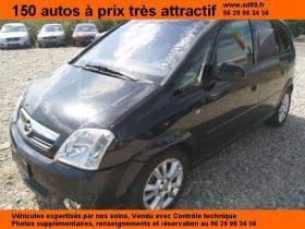 Opel Meriva Noir, garage VOITURE PAS CHERE RHONE ALPES à Saint-Bonnet-de-Mure