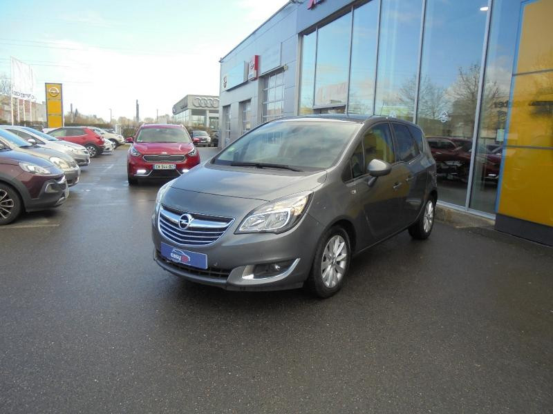 Opel Meriva 1.6 CDTI 110ch Cosmo Start/Stop Gris occasion à Corbeil-Essonnes - photo n°5