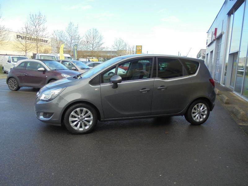 Opel Meriva 1.6 CDTI 110ch Cosmo Start/Stop Gris occasion à Corbeil-Essonnes - photo n°6