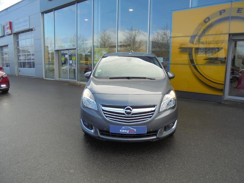 Opel Meriva 1.6 CDTI 110ch Cosmo Start/Stop Gris occasion à Vert-Saint-Denis - photo n°4