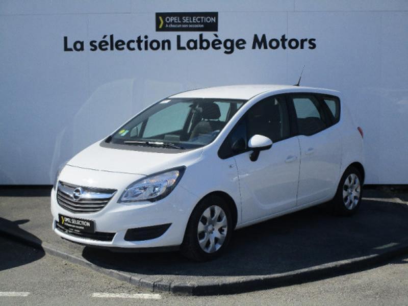 Opel Meriva 1.6 CDTI 110ch Edition Start/Stop Blanc occasion à Labège - photo n°3