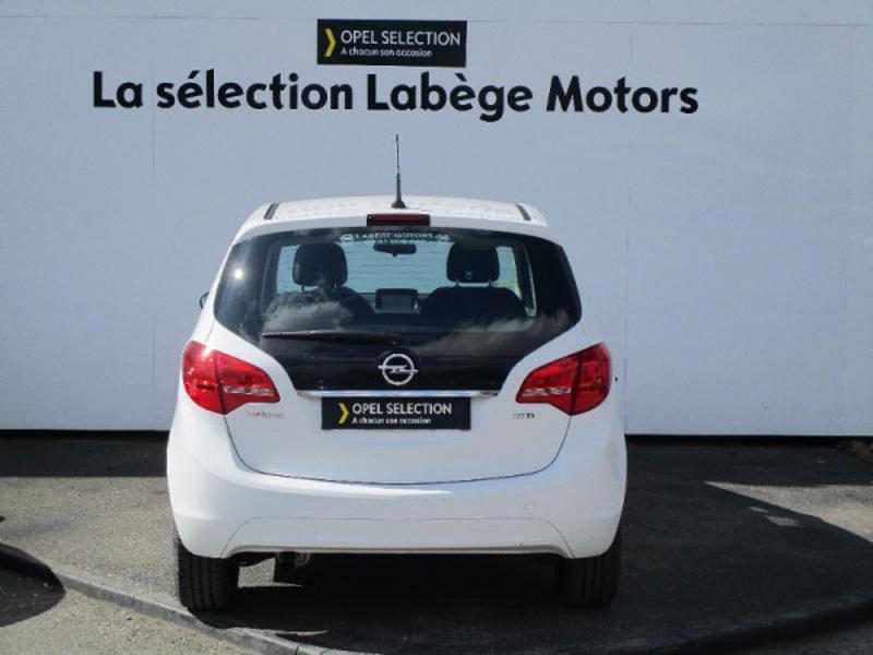 Opel Meriva 1.6 CDTI 110ch Edition Start/Stop Blanc occasion à Labège - photo n°2