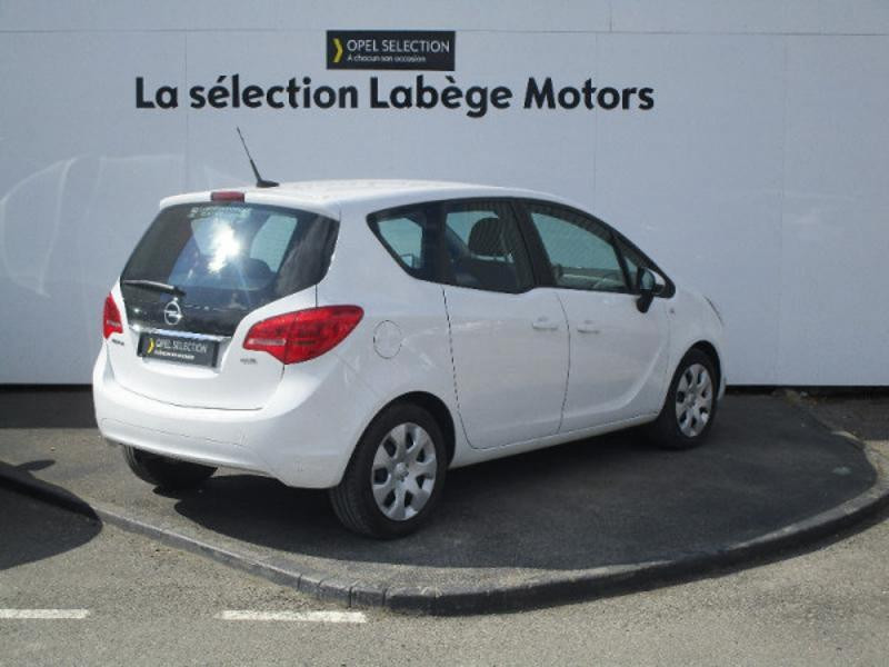 Opel Meriva 1.6 CDTI 110ch Edition Start/Stop Blanc occasion à Labège - photo n°4