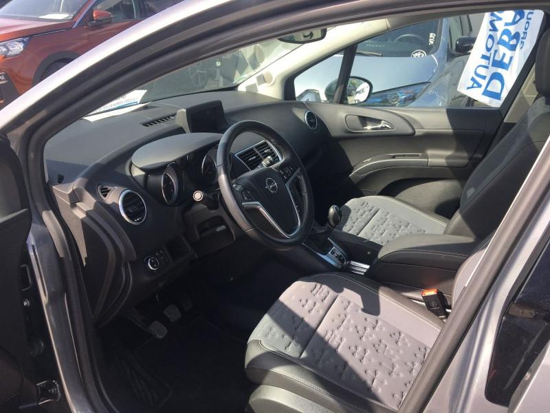 Opel Meriva 1.6 CDTI 110CH ELITE START/STOP Gris occasion à Ibos - photo n°4