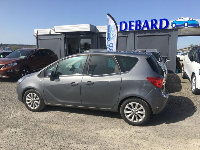 Opel Meriva 1.6 CDTI 110CH ELITE START/STOP Gris occasion à Ibos - photo n°3