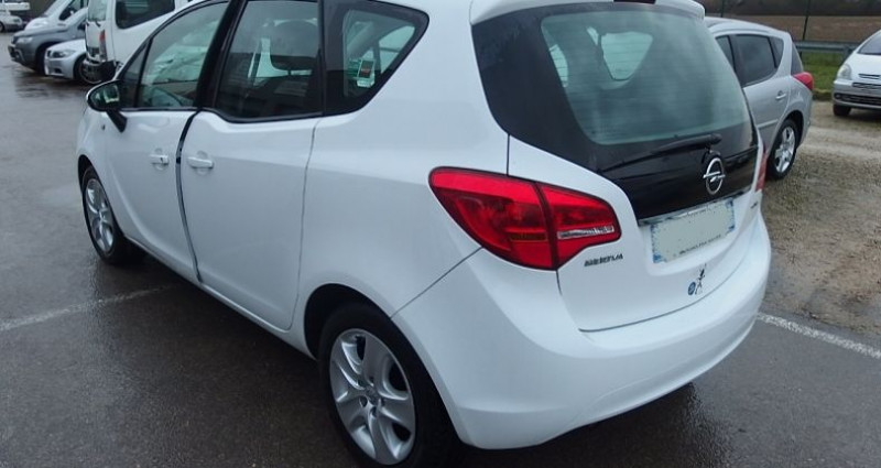 Opel Meriva 1.6 CDTI 95CH EDITION START/STOP Blanc occasion à FONTAINE LES GRES - photo n°2