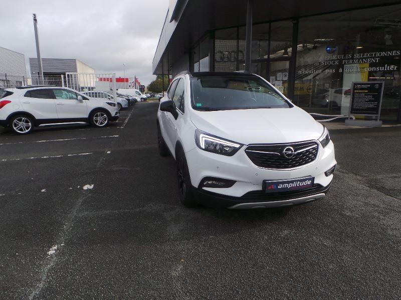Opel Mokka X 1.4 Turbo 140ch Bicarburation Black Edition 4x2 Blanc occasion à Brie-Comte-Robert