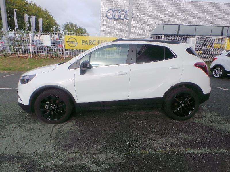 Opel Mokka X 1.4 Turbo 140ch Bicarburation Black Edition 4x2 Blanc occasion à Brie-Comte-Robert - photo n°2