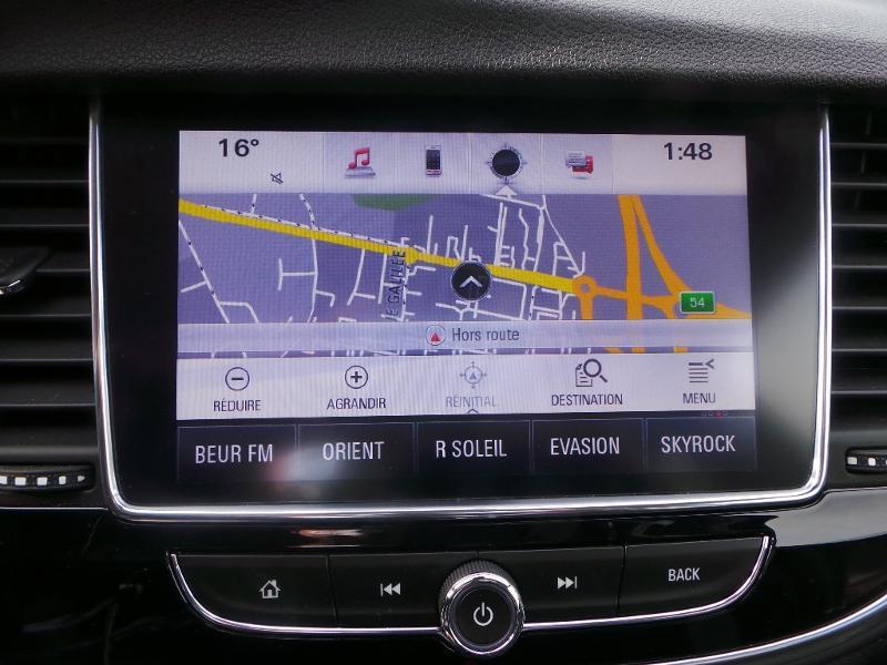 Opel Mokka X 1.4 Turbo 140ch Bicarburation Black Edition 4x2 Blanc occasion à Brie-Comte-Robert - photo n°7