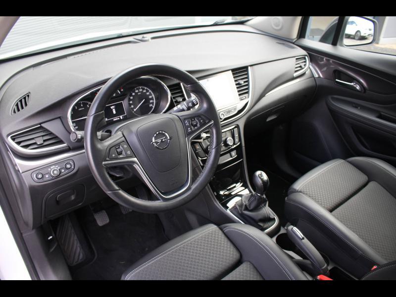 Opel Mokka X 1.4 Turbo 140ch Color Edition 4x2 Blanc occasion à Cerisé - photo n°4
