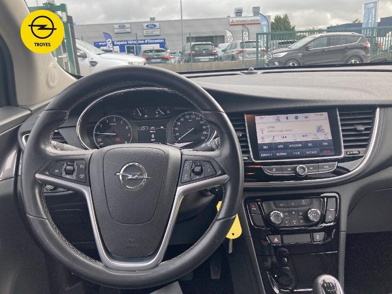 Opel Mokka X 1.4 Turbo 140ch Innovation 4x2 Gris occasion à Barberey-Saint-Sulpice - photo n°8