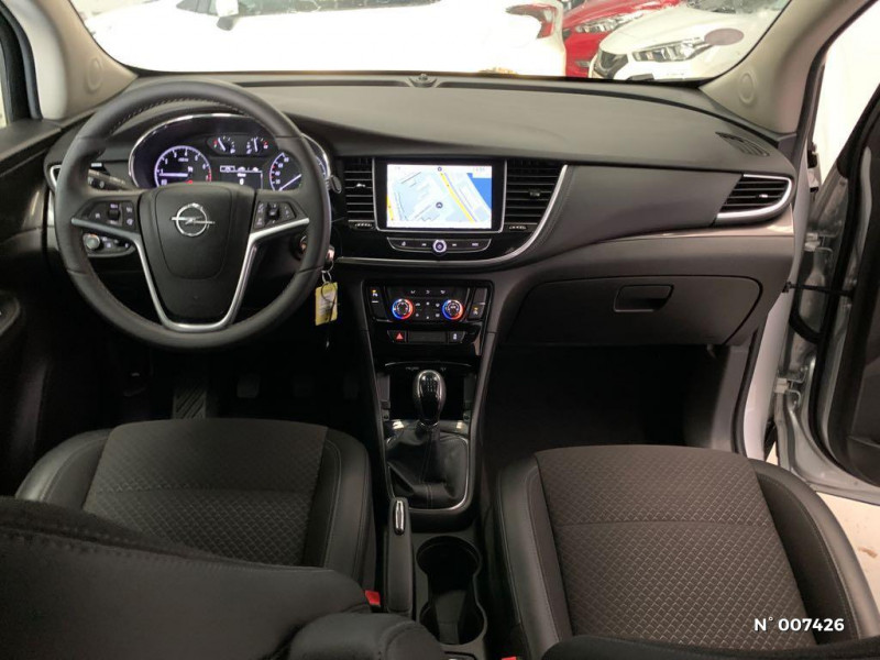 Opel Mokka X 1.4 Turbo 140ch Innovation 4x2 Gris occasion à Rouen - photo n°10