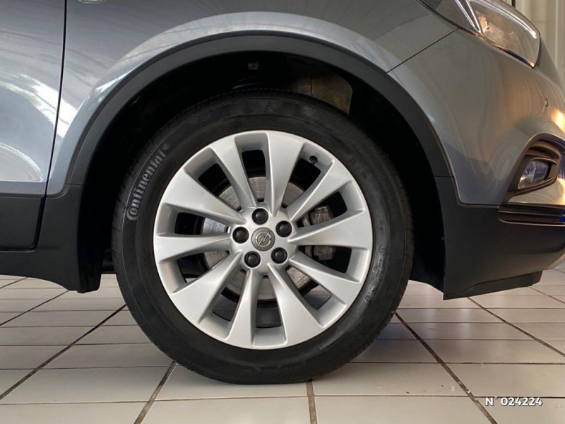 Opel Mokka X 1.6 CDTI 110ch ecoFlex Innovation 4x2 Gris occasion à Dury - photo n°9