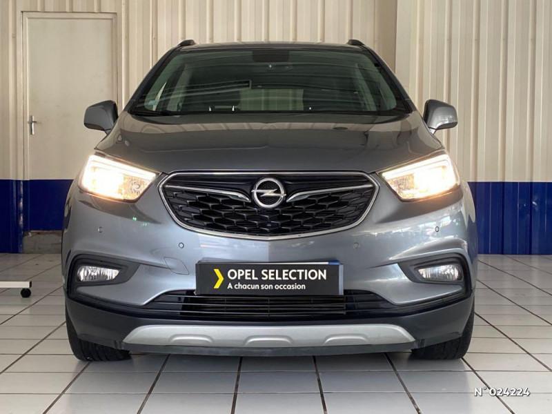 Opel Mokka X 1.6 CDTI 110ch ecoFlex Innovation 4x2 Gris occasion à Dury - photo n°2