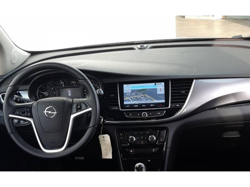 Opel Mokka X 1.6 CDTI - 136 ch 4x2 Black Edition Gris occasion à Libourne - photo n°8