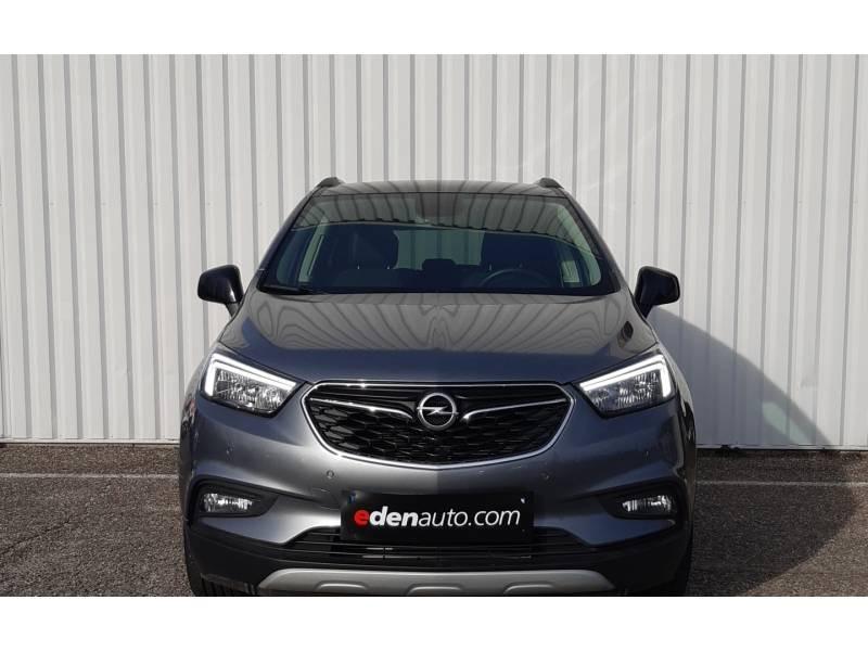 Opel Mokka X 1.6 CDTI - 136 ch 4x2 Black Edition Gris occasion à Libourne - photo n°2
