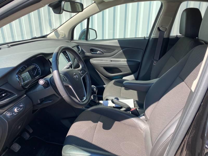 Opel Mokka X 1.6 CDTI - 136 ch 4x2 Midnight Edition Noir occasion à Libourne - photo n°7