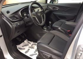 Opel Mokka X 1.6 CDTI 136CV 4X2 BLACK EDITION Gris occasion à Biganos - photo n°2