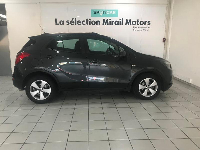 Opel Mokka X 1.6 D 110ch Ecotec Edition 4x2 Gris occasion à Toulouse - photo n°9
