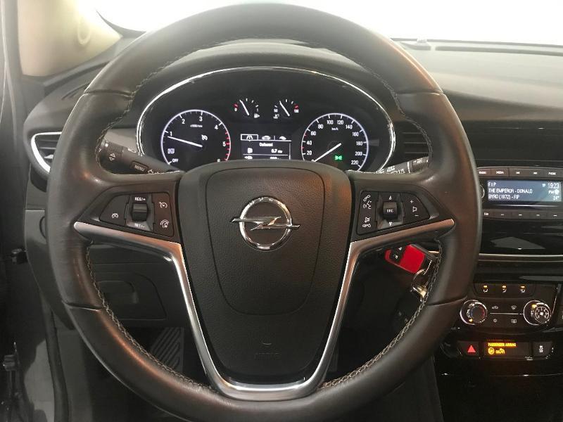 Opel Mokka X 1.6 D 110ch Ecotec Edition 4x2 Gris occasion à Toulouse - photo n°8