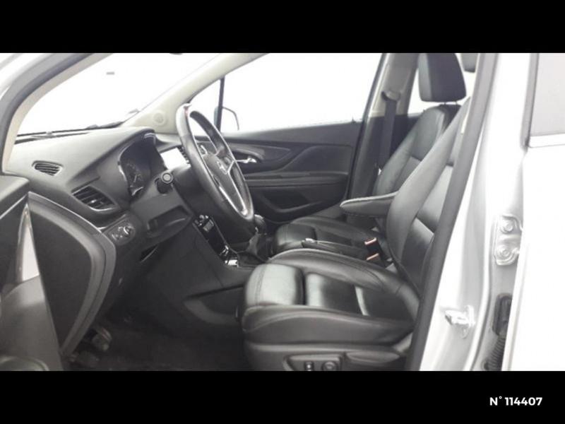 Opel Mokka X 1.6 D 136 Elite 4x2 Euro6d-T Gris occasion à Montévrain - photo n°11