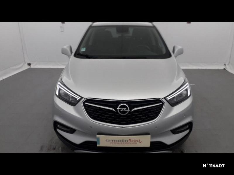 Opel Mokka X 1.6 D 136 Elite 4x2 Euro6d-T Gris occasion à Montévrain - photo n°3