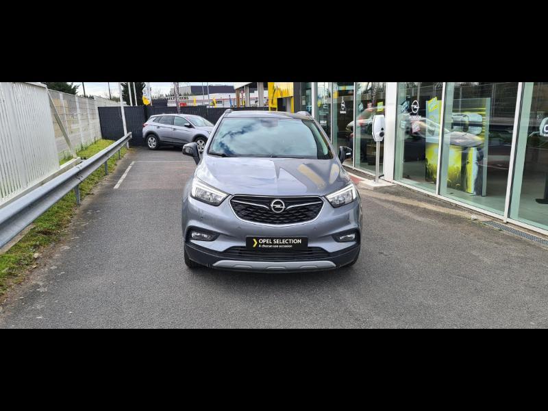 Opel Mokka X 1.6 D 136ch BlueInjection Black Edition 4x2 Gris occasion à Vert-Saint-Denis - photo n°3